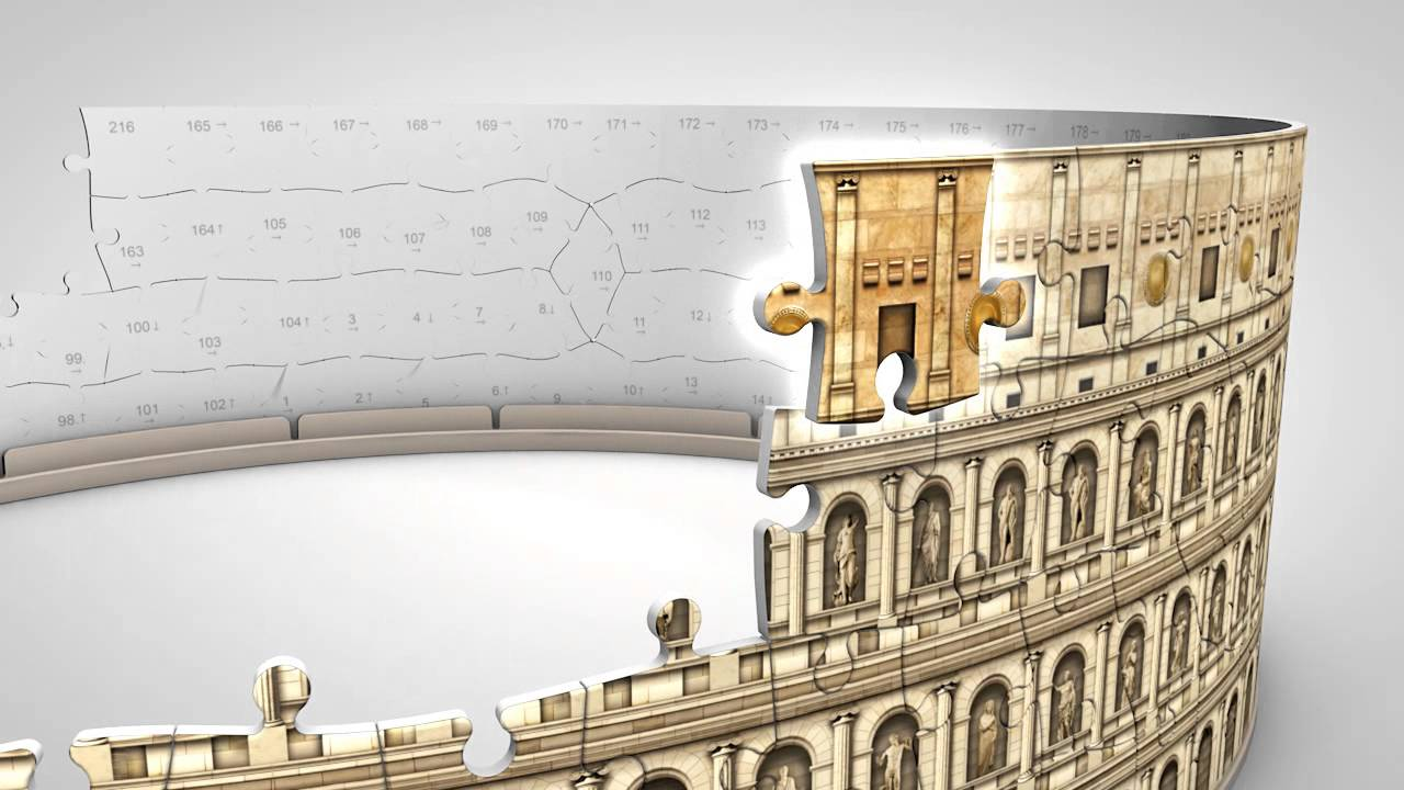 Puzzle 3d i pi belli da acquistare online for Libri da acquistare on line