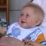 neonato di 4 mesi