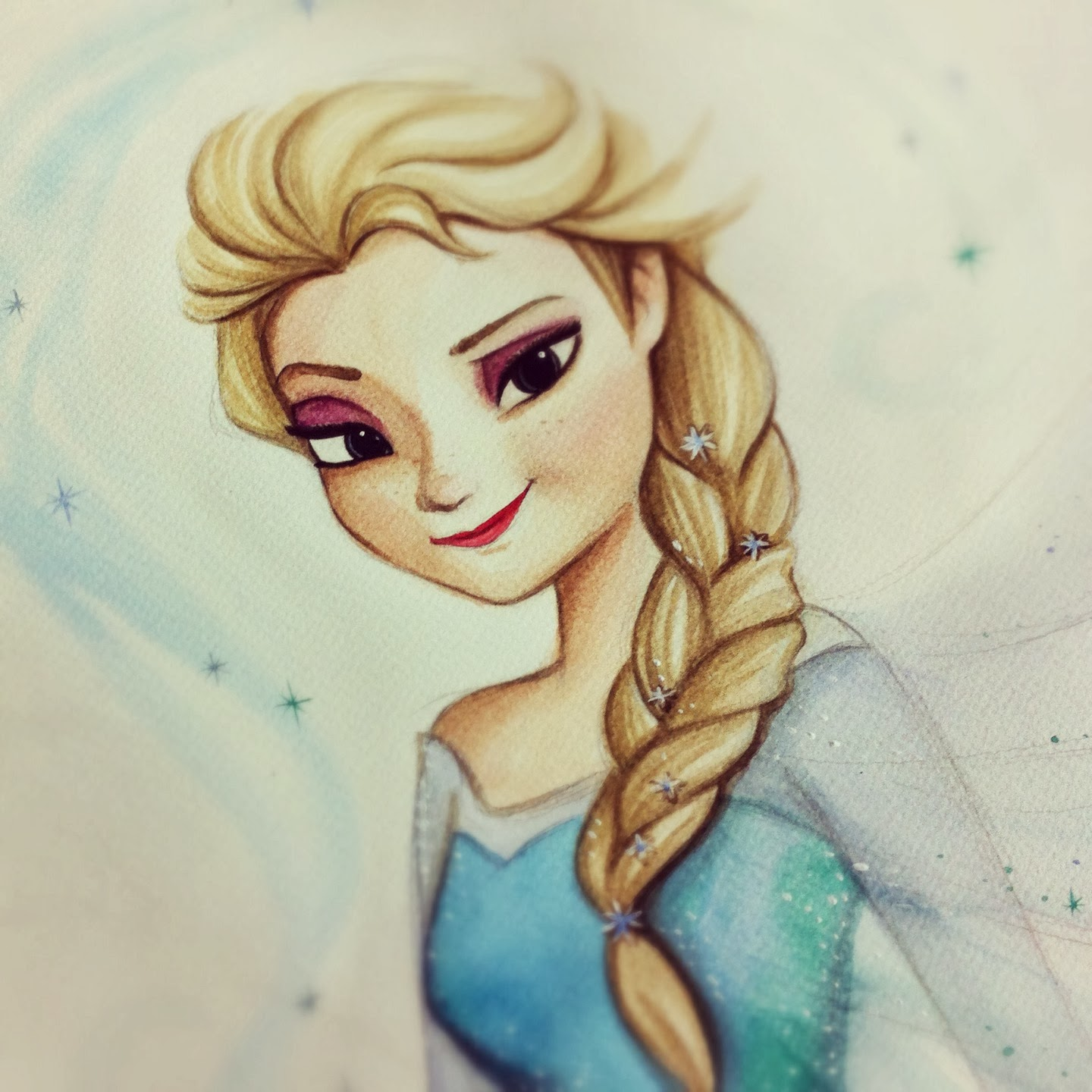 Disegni Da Colorare Frozen Facili