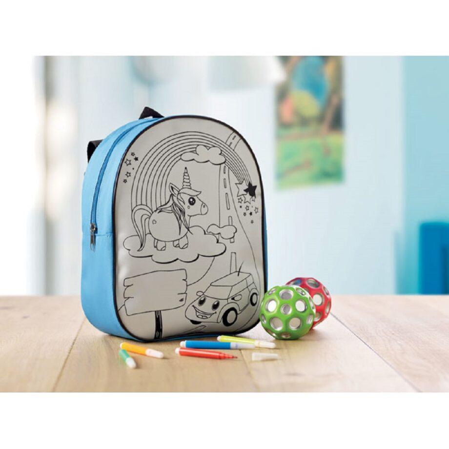 100% autentico fb8ce 43a12 Zainetti personalizzati e matite per bambini: modelli e ...